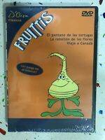 Los Fruittis DVD Nuovo Sigillato Il Palude De Le Tartarughe Il Mondo