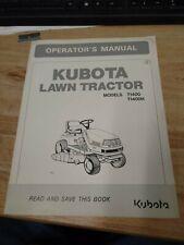 Original Oem Kubota T1400 T1400h Manual V 0070