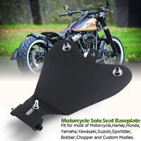 Motorrad Solo Sitz Grundplatte Sattel Für Harley Davidson Sportster XL 883 1200