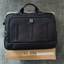 Victorinox VX One Laptop Briefcase Bag 13 inch Water Resistant Nylon Black