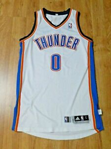 Russell Westbrook Oklahoma City Thunder Game Issued Basketball NBA Jersey