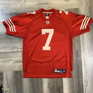 49ers Colin Kaepernick Authentic Reebok Red Home Jersey Rare Only One Like It