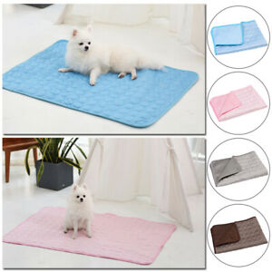 Summer Sleeping Dog Cat Pet Blanket Cooling Mat Ice Pad Kennel Mat Cusion