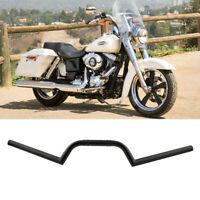 "universal Motorrad 7/8"" 22mm Handlebar Drag Bar Schwarz für Harley Chopper Honda"