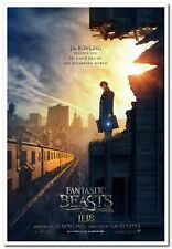 FANTASTIC BEASTS - 2016 Orig ADV Movie Poster 27x40 - J.K ROWLING - Harry Potter