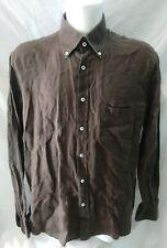 camicia uomo puro lino gran sasso taglia 56