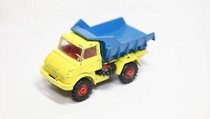 Corgi 406 Mercedes Benz Unimog Dump Truck - Good Vintage Original Model