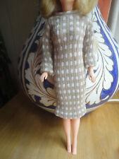 Vintage American Girl High Fashion Tressy Blue Ribbon Winner Dress Only GC