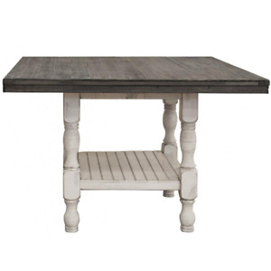Crafters and Weavers Stonegate Counter Height Dining Table - 52""