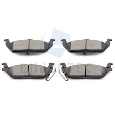 Rear Ceramic Discs Brake Pads For 2005 2006 2007 2008 2009-2011 Ford F150 Truck