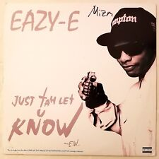 1995 - EAZY-E - JUST TAH LET U KNOW / THE MUTHAPHU**IN' REAL - RUTHLESS ORIGINAL