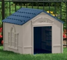 Extra Large Dog Houses Outdoor Doghouse House Beds Doghouses Durable Resin New