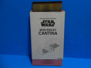 Star Wars 1997 Kenner Pop-Up Action Diorama Mos Eisley Cantina Playset ~ New 💥