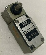 Electrical Limit Switch Gould Rb Denison Lox Switch Jk012 Side Rotary Actuator