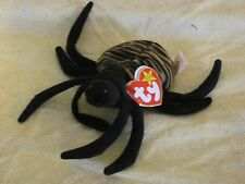 Spinner the Spider-Ty Beanie Baby/Rigid Tag Protector! FREE SHIPPING!