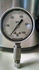 Usg Us Gauge Made In Usa Stainless Steel Liquid Filled High Pressure Gauge