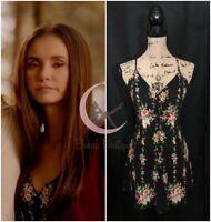 ASO Elena Gilbert Alice + Olivia Alves Floral Dress Sz 2, 4 The Vampire Diaries