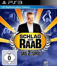 PlayStation 3 Sony Schlag den Raab Das 2 Spiel  GuterZust.