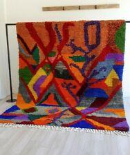 9.8ft /6.5ft Moroccan rug ben ourain rug colorful vintage rug handmade carpet