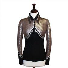 X-SMALL  Showmanship Pleasure Horsemanship Jacket Shirt Rodeo Queen Rails Outfit