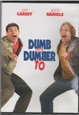 DUMB AND DUMBER TO (DVD, 2015) NEW