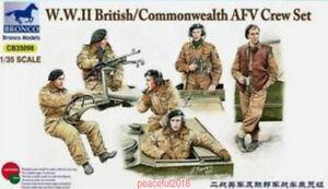 Bronco CB35098 1/35 WWII British/Commonwealth AFV Crew Set(incl. 6 Figures)