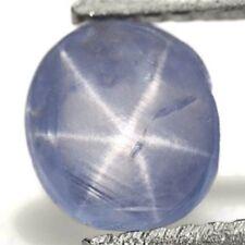 BURMA Blue Star Sapphire 1.18 Cts Natural Untreated Aqua Blue Oval