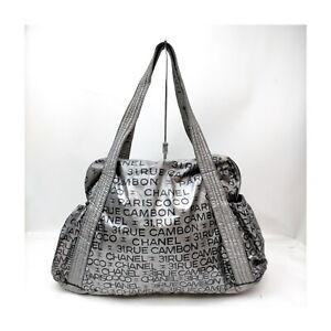 Chanel Tote Bag Unlimited Tote Bag Silver Nylon 1429168
