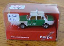 Voiture échelle 1:87 HO train Herpa Wartburg 353'85 Police neuf boite ref044493