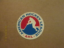 AHL Vintage 1970's 3 Inch League Logo Hockey Sticker