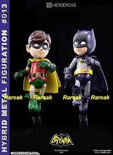 86hero 2014 Herocross Hybrid Metal Figuration #012 & #013 Batman + Robin Figures