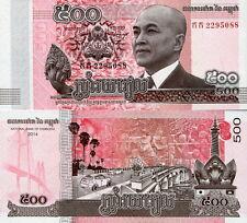 CAMBOGIA - Cambodia 500 riels 2015 FDS - UNC