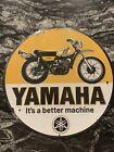 VINTAGE+YAMAHA+METAL+SIGN+MOTOR+OIL+LUBRICANTS+MOTORCYCLE+RACING+GAS+PUMP+RD400