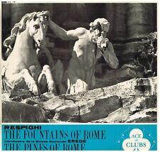 Respighi: I Pini Di Roma, Fontane Di Roma / Alberto Erede, Previtali - LP Decca