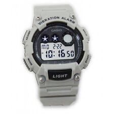 Casio W735H-8A2V Watch Super-Illuminator Vibration Alarm 10 Year Battery 100M WR