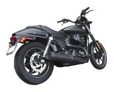 Firebrand Black 4 Grand Prix Slip On Muffler Fits Harley Street XG Exhaust Pipe
