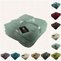 LUXURY 6 PIECE TOWEL BALE SET 100% EGYPTIAN COTTON FACE, HAND, BATH TOWELS