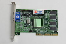 AOPEN 90.05210.693 PCI PG80 VIDEO GRAPHICS ADAPTER WITH WARRANTY