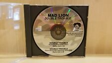 CD Promo Double Trouble Mad Lion KRS-One Brenda K Starr