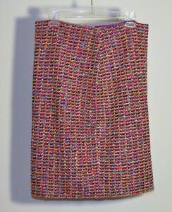 St. John Knit Skirt, variegated, size 10
