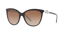 Tiffany & Co. TF4131-B-F 8134/3B Sunglasses Havana Brown Frame Brown Lens 56mm