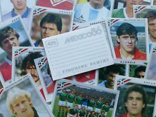 Panini Mexico 86 World Cup Stickers (1-220) - Complete Your Collection