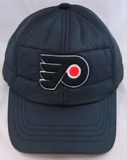NHL Hockey American Needle Philadelphia Flyers Outdoorsman Black Cap Quilted ..