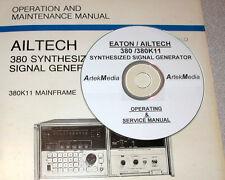 AILTECH 380 / 380K11 OPERATING & SERVICE MANUAL