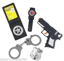garçon fille 5 pièces Police SWAT Accessoire Déguisement Kit jouet BADGE armes
