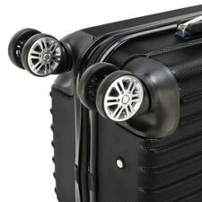 """20"""" Carry On Travel Luggage Bag Trolley Fashion Suitcase ABS 360° Rolling Wheel"""