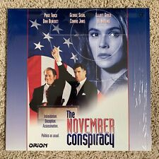 November Conspiracy Laserdisc - Dirk Benedict - RARE