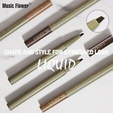 3 Color Natural Long-lasting Microblading Effect Eyebrow Pen Pencil Not Blooming