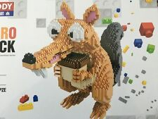 2200 PCS/ Nano block DIY Building block toy 3D Cartoon Squirrel Toys & gifts 005