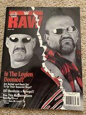 WWF Raw Magazine March 1998
